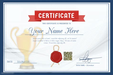certificate design sports award certificate template for schools and sport clubs