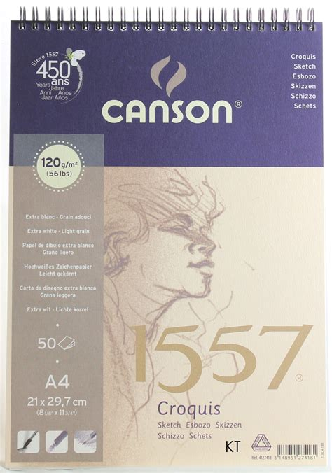 canson sketchbook a4 canson 1557 a5 a4 a3 sketch pad book spiral bound 120gsm