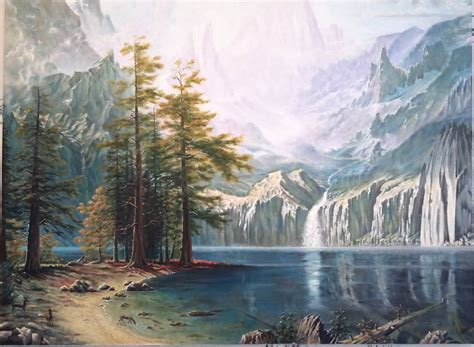 by clay coller mountains landscape painting