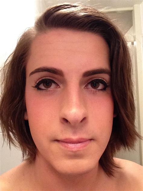 eyes shape mtf ts last week i finally came out for being transgender i m