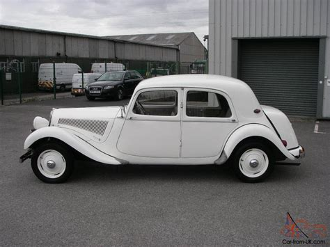 Citroen Traction Avant by 1952 Citroen Traction Avant 11bl