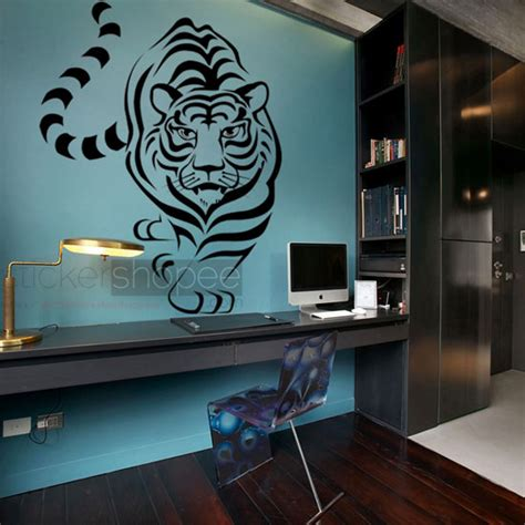 tiger wall stickers tiger wall decals