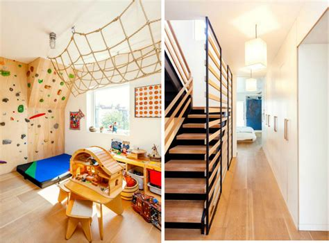 Master Bedroom Wall Art a totally modern brooklyn townhouse with a rock climbing