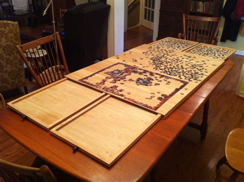 ultimate puzzle board  drawers woodworking