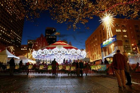 grand park lights up the holidays carousel just the start of seattle s whirl the