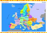 Mapa De Europa Completo