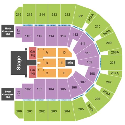 iwireless center seating view keith i wireless center tickets keith