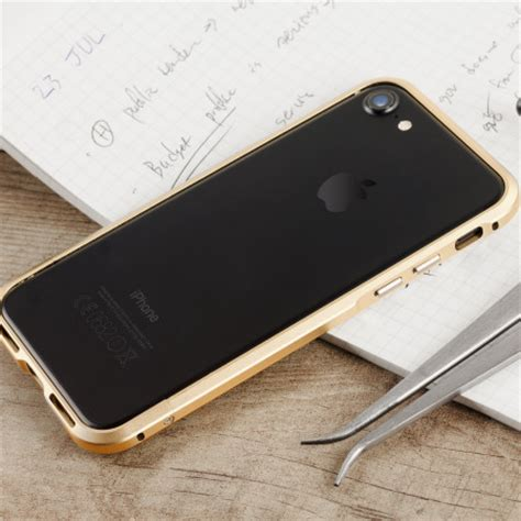 Casing Hp Iphone 7 Gold Supply Co Custom Hardcase Cover bumper de aluminio iphone 7 luphie oro ch 225 n opiniones