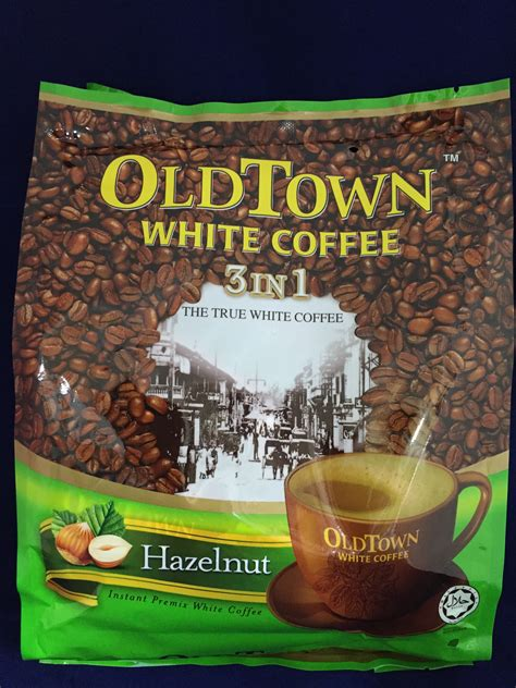 Town White Coffee 3 In 1 Hazelnut Town Instant White Coffee 3 In 1 Hazelnut