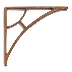 simple arch cast iron shelf bracket for the shelf