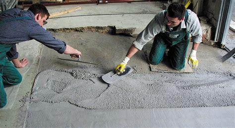 Zementboden Selber Machen by Betonboden Sanieren Haus Dekoration