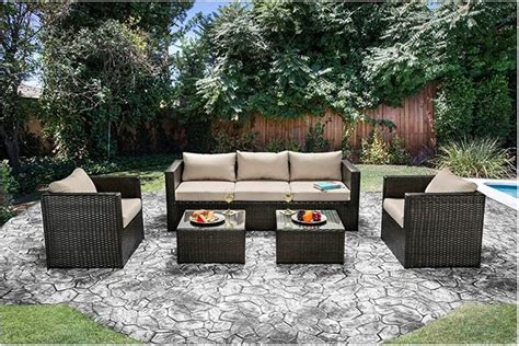 Patio Furniture Stores Las Vegas Olina Patio Ivory Sofa Set Las Vegas Furniture Store