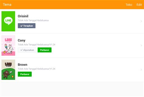 theme line android forest friend download dan cara mengganti tema atau theme line android