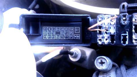 1998 toyota 4runner check engine light codes manual diagnostic check no obd sensor needed