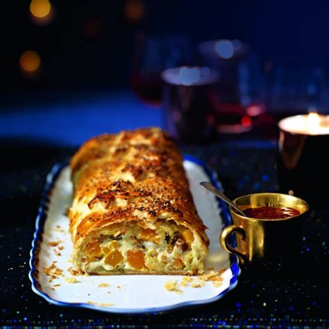 Easy Dinner Party Main Dishes - goats curd and squash wellington woman and home