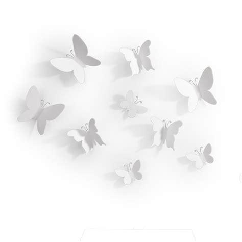 imagenes de mariposas blancas volando d 233 coration murale papillon umbra mariposa deco et