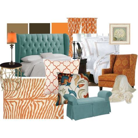 orange and brown bedroom ideas aqua orange brown living room inspiration wish i could add