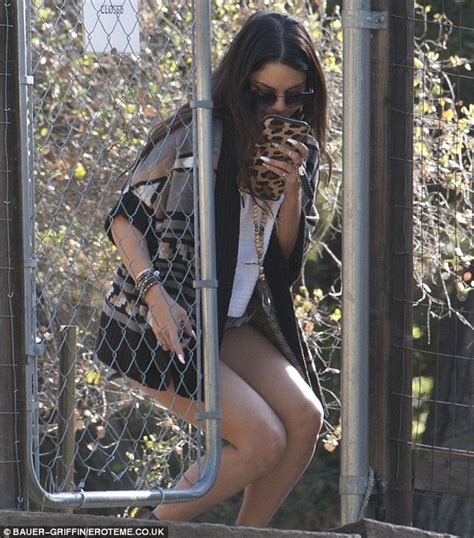 Ed Westwick Kitchen Sink Hudgens Bares Toned Legs In A Boho Grunge Ensemble Daily Mail