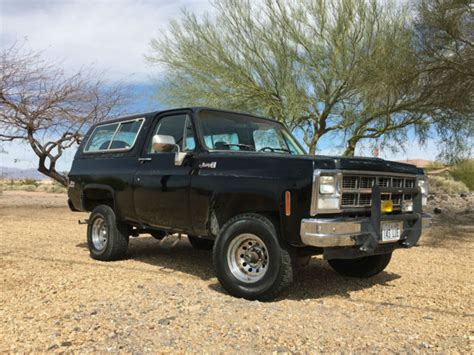 gmc jimmy 1980 gmc jimmy suv 1980 black for sale tkl18af523893 no