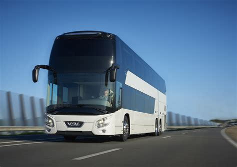Fuel Electrik Futura vdl coach vdl coach introduces new futura decker during busworld 2015