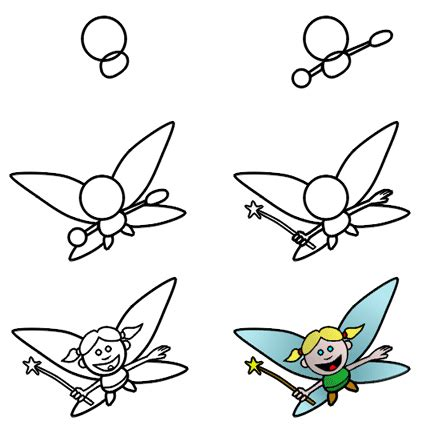 How To Draw A Fairy | how to draw fairies