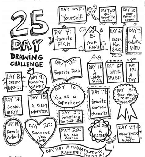 doodle of the day draw something wednesday for parents drawing 171 st s primary bray
