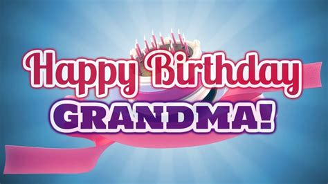 Happy Birthday Wishes For Grandmother Happy Birthday Wishes To Grandma Cute Words For Grand