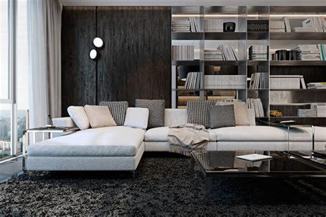 monochromatic apartment monochrome kiev apartment by iryna dzhemesiuk vitalij yurov