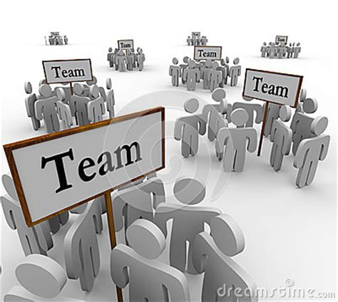 how to get a person sectioned team groups signs people teamwork stock photo image