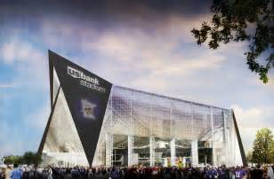 Rendering of the newly named u s bank stadium u s bank and the