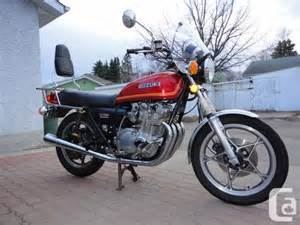 Suzuki Motorcycles Edmonton 1977 Suzuki Gs750 Edmonton Ab For Sale In Edmonton
