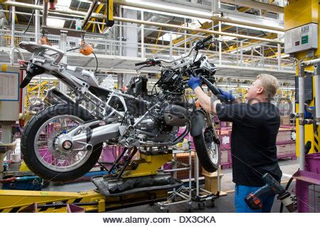 Bmw Motorcycle Berlin Plant by Production Bmw Motorcycle Factory In Berlin Germany