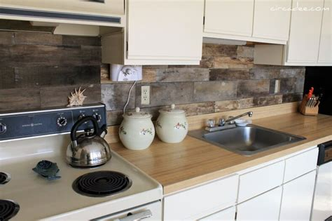 pallet wood backsplash make a splash with repurposed backsplashes homejelly