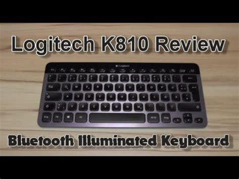 Logitech Bluetooth Illuminated Keyboard K810 review logitech k810 wireless illuminated keyboard doovi