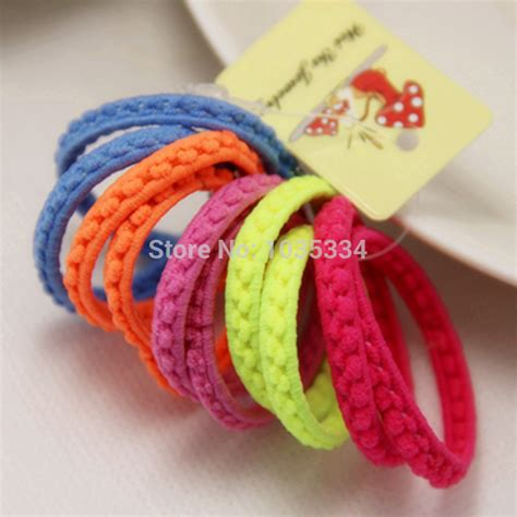 make loom band hair pins hair accessories to make with loom bands colorful
