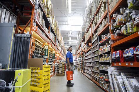 home depot touts use of stores for fulfillment wsj