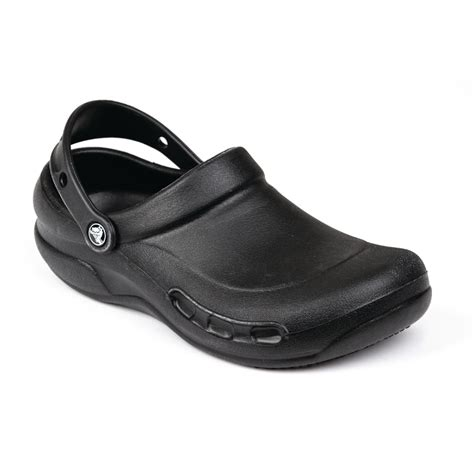 M Styler crocs black bistro clogs 48