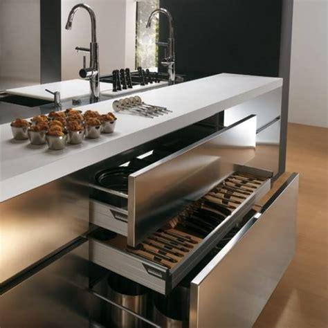 Modern Kitchen Cupboards Designs by Cucine In Acciaio Inox Cucina