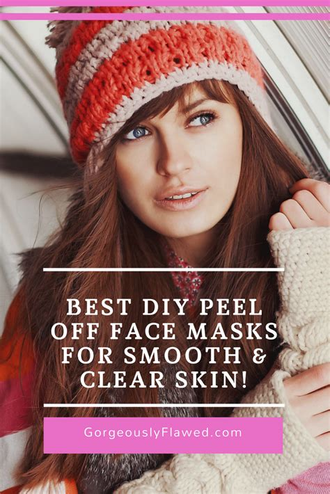diy mask to clear skin best diy peel masks for smooth clear skin