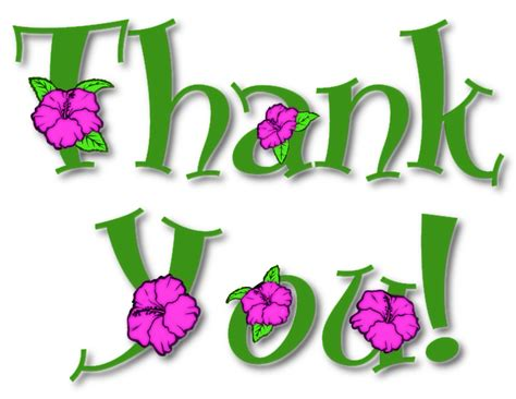 thank you clipart thank you flowers clipart clipart panda free clipart