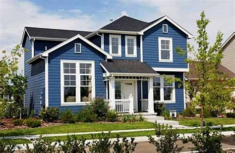exterior blue paint exterior paint blue white for the home