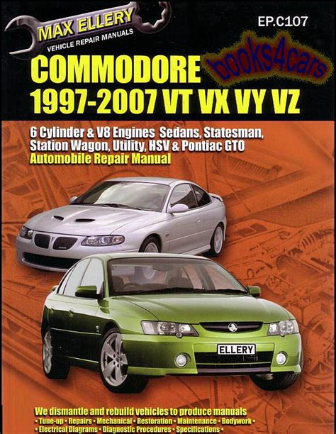 free auto repair manuals 2004 pontiac gto electronic valve timing gto 2004 2006 shop manual pontiac service repair book 2005 haynes chilton monaro ebay