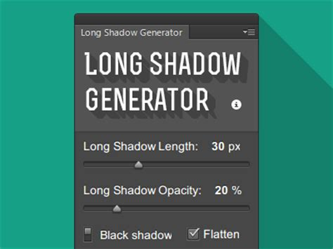 photoshop template long shadow long shadow generator psd psdfinder co