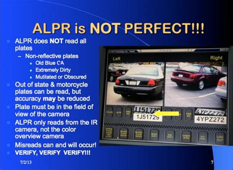 license plate reader cops are freaked out that congress may impose license