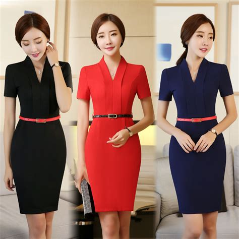 Work Clothes Styles | formal ol styles ladies office work wear dress for