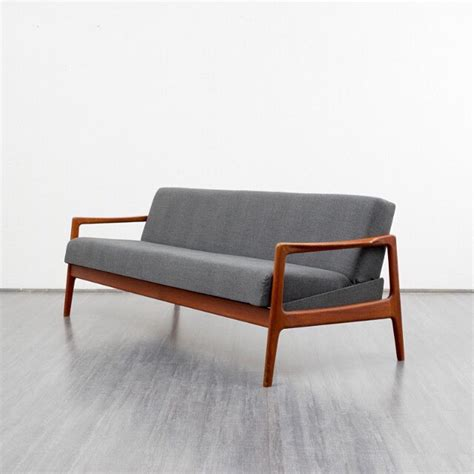 Scandinavian Sofa Beds Design Market Scandinavian Grey Sofa Bed In Teak 1960s Vintage Design Home Interior
