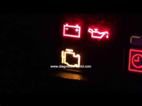 citroen engine management warning light   diagnose