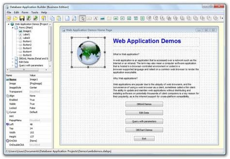 database application builder free edition free
