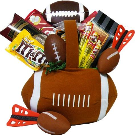 Bowl Gift Baskets by Football Gift Basket Findgift