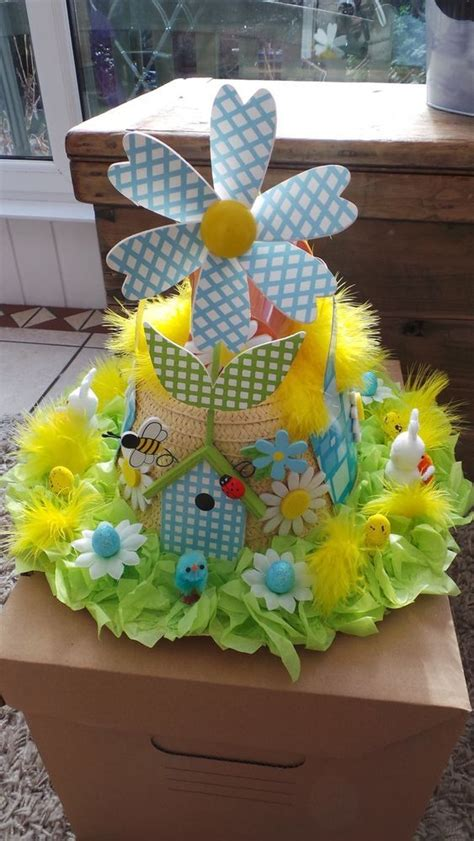 Handmade Easter Hats - handmade easter bonnet country garden design easter